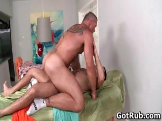 Hot guy acquire his amazing making massaged part4