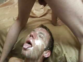 Gay Facial Explotion