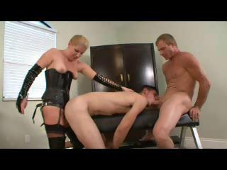 Twink gets it above with a sexy dominating feminine with the addition of a stallion