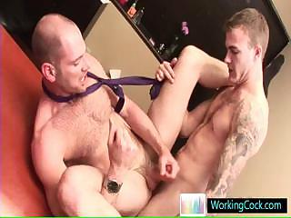 Incredible jubilant studs in hardcore jubilant porn away from workingcock