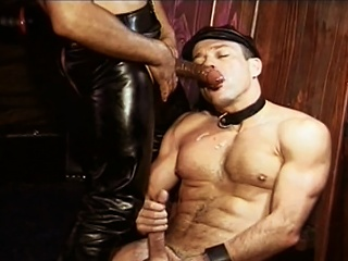 Adorable Williams fucked by  leather daddy Mondo Moore right up his...