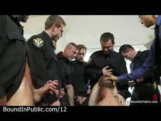 Handcuffed gay punished by imbecilic cops