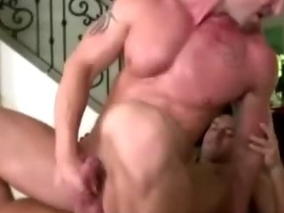 Gay masseur assfucks fit tattooed straight guy's tight hole