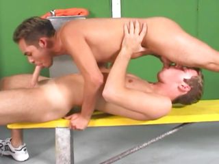 Now that's some suction power Pedro has plus with those pink juicy lips he sucks plus swallows Salva's cock like a pro. Because he gave his big hard dick such a mean suck Salva repays him with a deep anal fuck plus stuffs his tight anus in cowboy plus then from behind, ripping his anus plus fabrication him moan