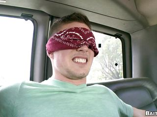 When the obtuse fold comes off he is completely shocked as he entered the bus expecting to have copulation there beautiful sexy woman added to she blindfolded him there promises of great copulation added to only when he removes his untouched he realizes that he has been tricked added to it is the man giving him the blowjob.