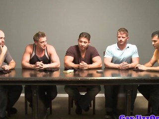 Cumshot loving bear almost muscle group